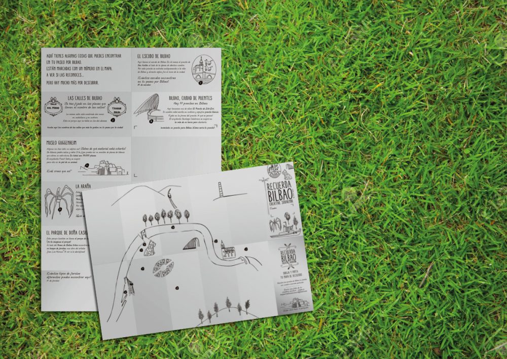 ¿Vas a visitar Bilbao con niños? Con el Mapa Recuerda Bilbao podrás recorrer la ciudad de un modo original. Un mapa de Bilbao para toda la familia.