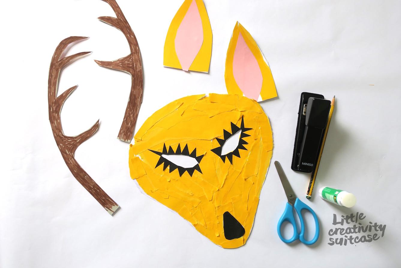 Diy Tiermaske Basteln Little Creativity Suitcase