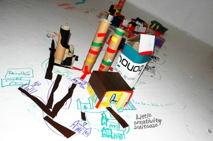 Crear un mapa de vuestra ciudad es una actividad divertida para toda la familia.