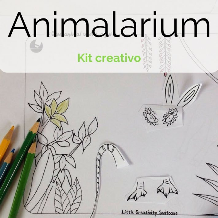Animalarium. Kit de dibujo creativo.