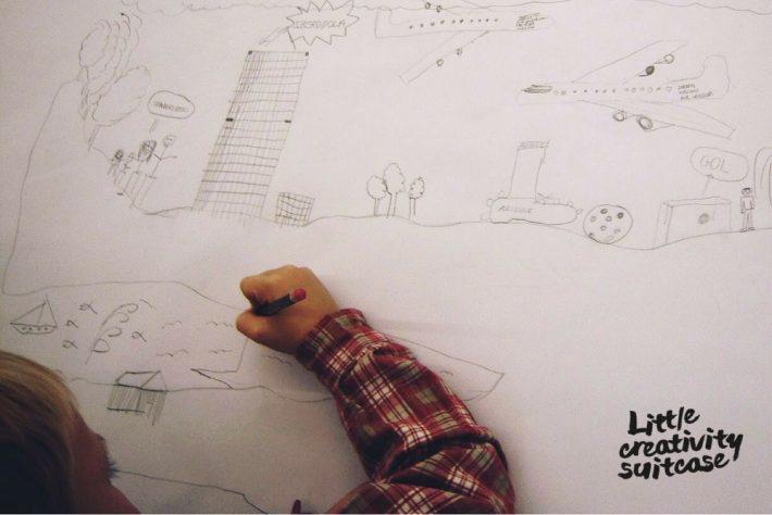 Kreatives Zeichnen Little Creativity Suitcase