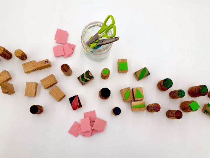 Hacer sellos DIY